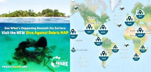 Dive Against Debris