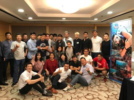 PADI 오키나와 다이빙 비즈니스 세미나 2017
